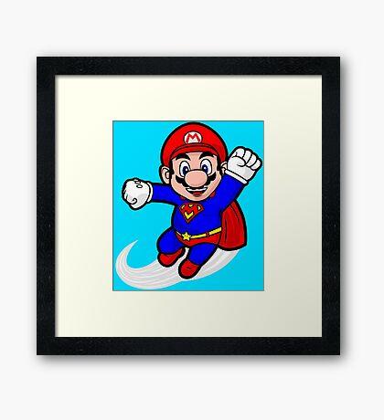 Super Plumber Framed Print