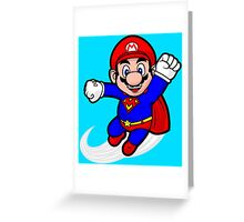Super Plumber Greeting Card