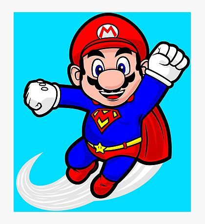 Super Plumber Photographic Print