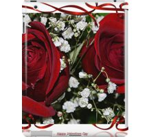 Happy Va;entine's Day iPad Case/Skin