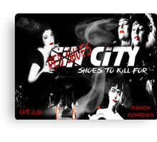 Shoes to Kill For Canvas Print