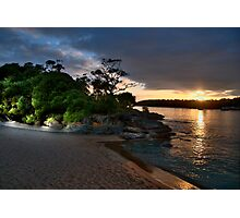 Balmoral  Glow - Balmoral Beach - The HDR Series Photographic Print