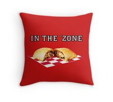 In the 'zone. Throw Pillow