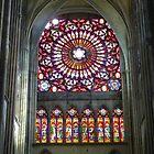 rosace de la cathédrale de Troyes by William Lyszliewicz