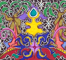 Bali Nights by graffitica