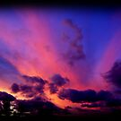 Grandview Autumn Sky Series - no.1 (reworked) by dimarie