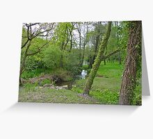 St Peters Vally Greeting Card