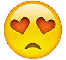 Sad Emoji Photographic Print