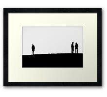 Silhouettes IV Framed Print