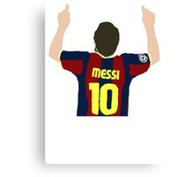 Messi 10 Canvas Print
