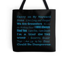 Multi Fandom Anthem Tote Bag