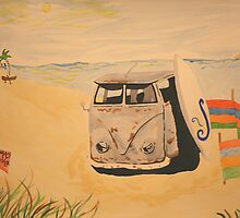 rusty old vw ... by surfinmaz