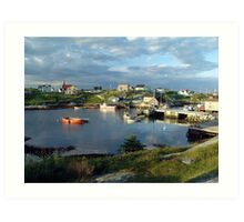 Peggy's Cove evening Art Print