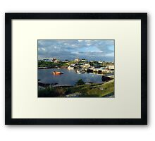 Peggy's Cove evening Framed Print