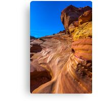 Water Carved - Valley of Fire Canvas Print