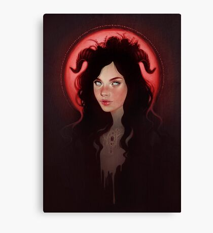Blood Moon Canvas Print
