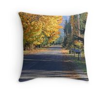 """Heading For The Mountains"" Throw Pillow"