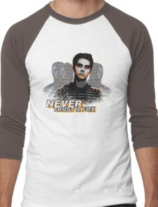 Never Trust A Fox Men's Baseball ¾ T-Shirt