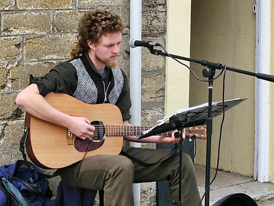 Entertaining The People Of Bridport by lynn carter