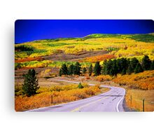 Fall Over 12 Canvas Print