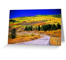 Fall Over 12 Greeting Card