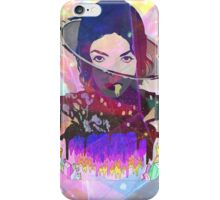 Michael Jackson in the heavens iPhone Case/Skin