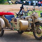German Motobike/Sidecar by Tony Dewey