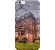 Building at the Connecticut Valley Hospital iPhone Case/Skin