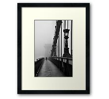 Chain Bridge Framed Print
