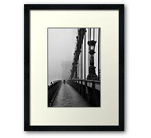 Chain Bridge Framed Print