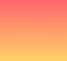 Pink/ Yellow Gradient  by FrootShop