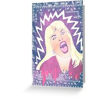 Laura Palmer occult baby Greeting Card