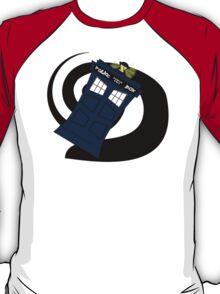 Abstract Tardis 3 T-Shirt