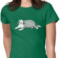 Old English Sheepdog Womens Fitted T-Shirt