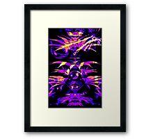 Purple Fazed  Framed Print