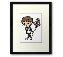 Louis and His Balloon  Framed Print