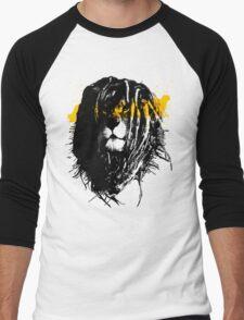 Lion rasta Men's Baseball ¾ T-Shirt