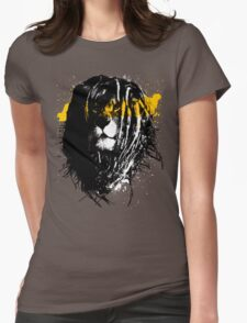 Lion rasta Womens Fitted T-Shirt