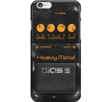 Boss Heavy Metal Pedal iPhone Case iPhone Case/Skin
