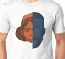 Lee and Clementine Face Art Unisex T-Shirt