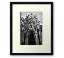 gothic church Framed Print