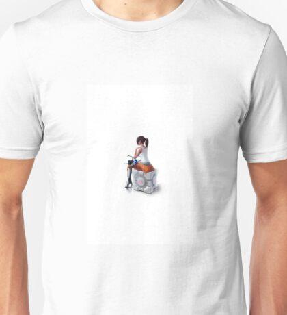 Sitting On The Friend Unisex T-Shirt