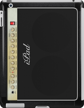 Guitar Amplifier iPhone Case (Marshall style) by Alisdair Binning