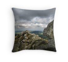 Shropshire Landscape Throw Pillow