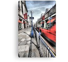 High Speed Bus, Ferrari Store Regent Street London  Canvas Print