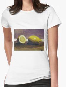 Lemons Womens Fitted T-Shirt