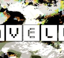 """""""Traveller"""" Sticker"""