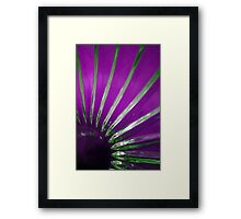 The sun/ glass version  Framed Print