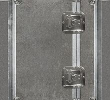 Flightcase (Silver) iPad Case by Alisdair Binning