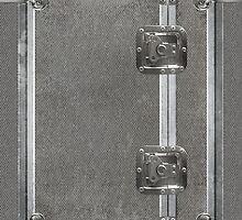 Flightcase (Silver) iPad Case by Alisdair Binning